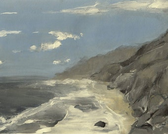 Big Sur, California #2- Original Acrylic Painting
