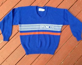 Vintage Broncos Sweater