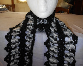 X-LONG LACY SCARVES to fit under your coat.