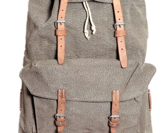1950's Swiss army backpack