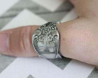 Spoon Ring Band - Size 9.5