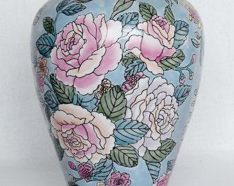Chinese vase Etsy