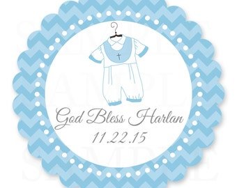 """Personalized Baby Girl Baptism / Christening 6"""" Centerpiece -Printable DIY"""