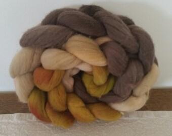 Wool Roving- Pepper