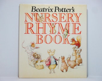 Beatrix Potter Nursery Rhyme Book 1984 Frederick Warne & Co., London Vintage Book