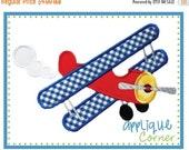 ON SALE Airplane Prop Plane applique digital design for embroidery machine by Applique Corner