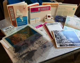 Meteorology Education Science Kit By Jeppesen - Sanderson 1975
