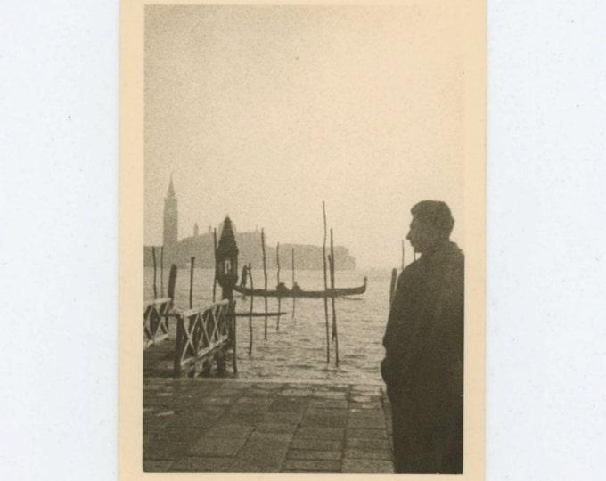 Venice, 1957 Vintage Snapshot Photo (66473)