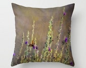 Small Throw Pillow Desert Sage & Butterfly