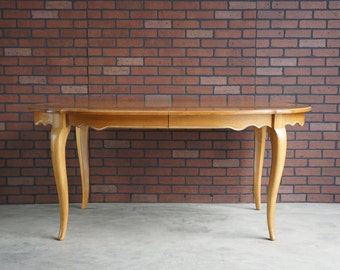 Dining Table / French Dining Table / Country French Dining Table By Ethan  Allen