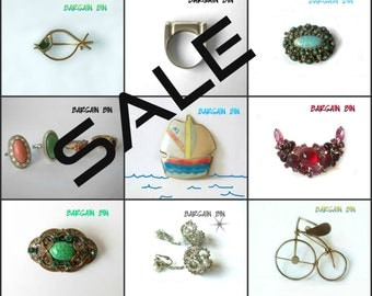 Five for Twenty-Five Bargain Bin Destash SALE