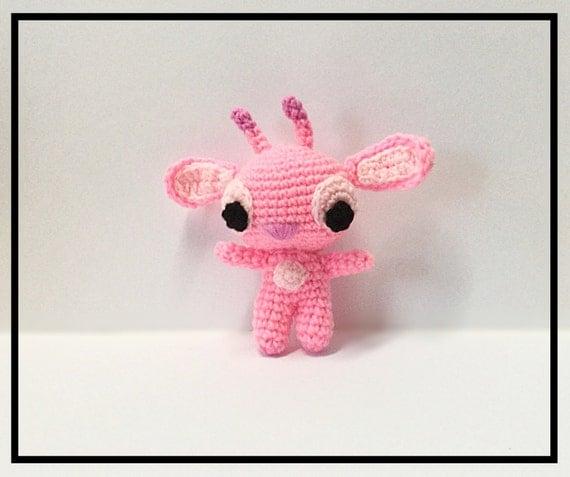 Amigurumi Lilo Stitch Angel Crochet Lilo Stitch AngelKawaii