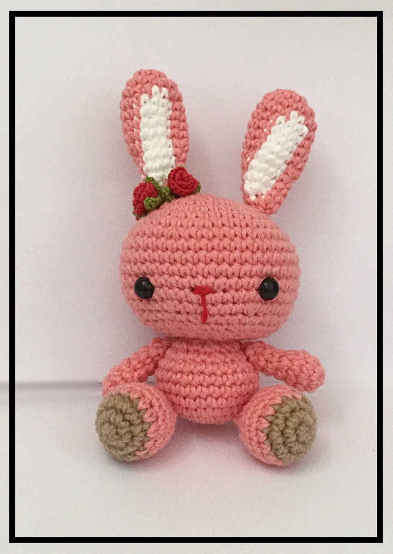 Amigurumi Care Instructions : Amigurumi Rabbit Amigurumi Bunny Rabbit crochet by ...