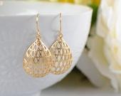 The Haylie Earrings - Gold