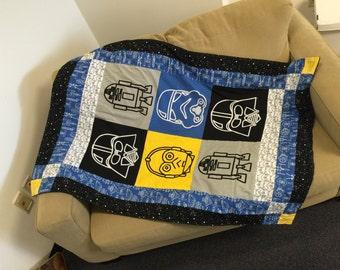 Starwars quilt blanket