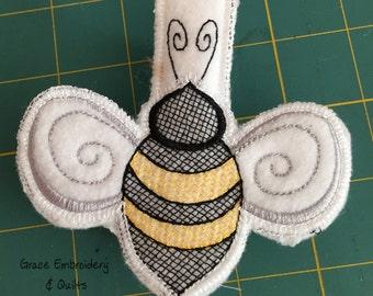 Bumblebee Clothespin Cozy