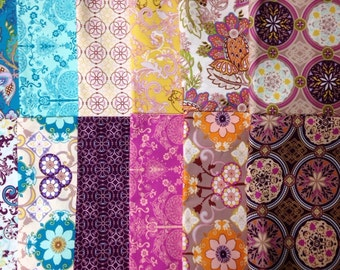 De-Stash! 14 Yards Bazaar Style Collection fabrics by Art Gallery. Premium cotton. Discontinued Line