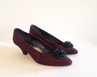 The Perfect Retro Shoes Vintage 1980s New Wave Progressive Pumps Heels