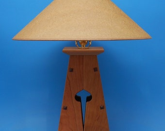Bungalow Lamp in Arts and Crafts, Mission Style, Heirloom, Wedding, Anniversary, Housewarming Gift