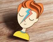 ICON | David Bowie Enamel Lapel Pin
