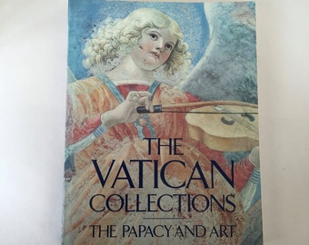 The  VATICAN Collections / Vintage Coffee Table Chicago Art Institute Book The Vatican Collections The Papcy and Art Softcover