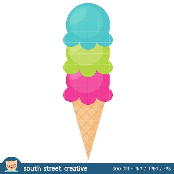 SALE! Ice Cream Cone, Scoops, Summer | Cute Clipart ...  SALE! Ice Cream...