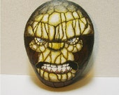 The Thing, Marvel Comics hand painted rock