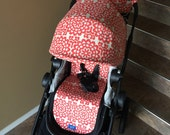 city select canopy cover and stroller/pram liner- 1 reversible canopy slip cover and 1 reversible liner