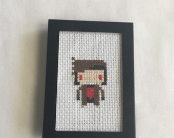 Gambit crossstitch