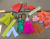 Pair Dawn Dolls and Clothing Fashion Lot