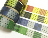 1 Roll of Limited Edition Harry Potter Theme Washi Tape (Pick 1) House of Gryffindor, Hufflepuff, Ravenclaw or Slytherin