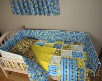 International Harvester Farmall Crib Bedding Set By