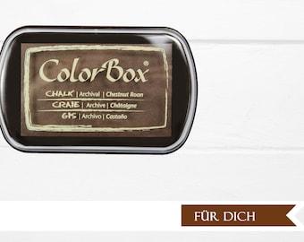 ♥♥ XL chestnut Roan chalk Inkpad