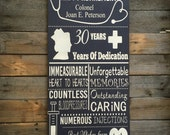 "Nursing/retirement sign 12""x24"""