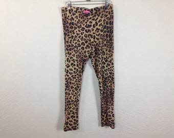 cheetah leopard leggings