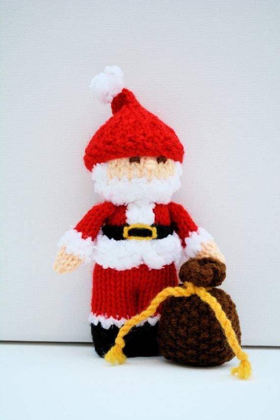 Amigurumi Christmas Decorations : Christmas Angel, Christmas Carolers, Santa Claus, Knitting ...