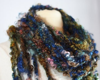 Home Grown and Hand Made Mohair Scarf
