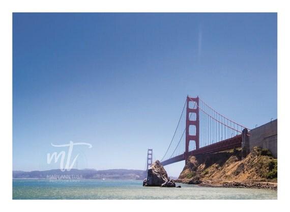 Golden Gate Bridge on the California Coast in San Francisco