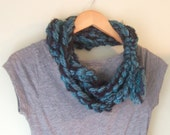 Blue Scarf Necklace / OOA...
