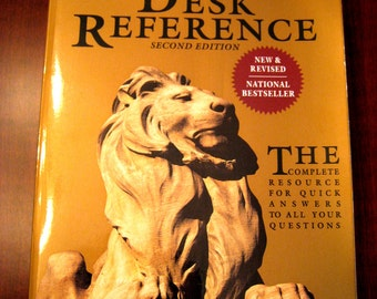 Desk Reference - The New York Public Library Desk Reference Second Edition