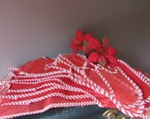 Vintage Mesh Christmas Stockings Assorted Sizes  Lot of 14 Decor Favors Crafts Mixed Media 1950's