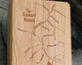 SKAGIT RIVER Map Fly Box ...