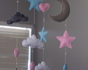 Starry Night Baby Mobile