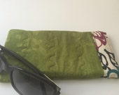For Laurie Pinch Open Sunglass Case, Padded Glasses Case, Easy Open/Close Sunglasses Case