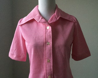 Pink Polka Dot ArricAfton Top