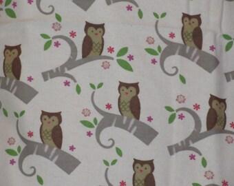 White Owls Pillowcase