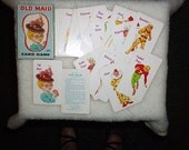 Reserved for Sandi Fun Complete Card Game Old Maid
