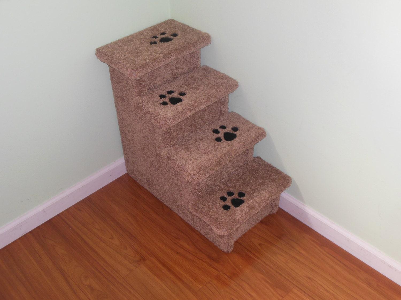 Pet Steps, 24 All Carpet Dog Stair, Pet Furniture, Pet Supplies, Handmade  In USA, Modern Pet, Pet Gifts, Dog Lovers, Pet Lovers, Dog Design
