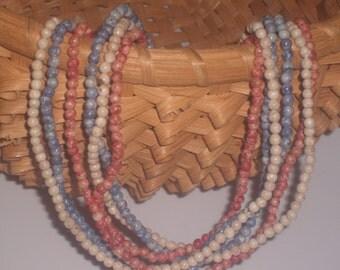 Vintage Marble Bead Chains