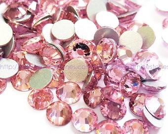 1440pcs Pink Rhinestone Flat Back Crystal SS16 4mm Supreme Quality